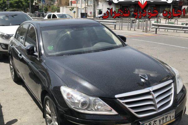 اجاره خودرو با راننده - اجاره هیوندای جنسیس سدان