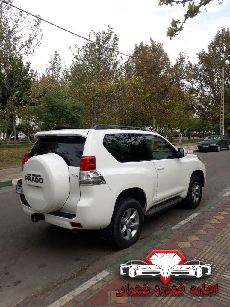 اجاره خودرو تویوتا پرادو - اجاره خودرو با شرایط آسان